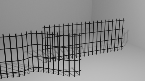 Palisade fence preview image