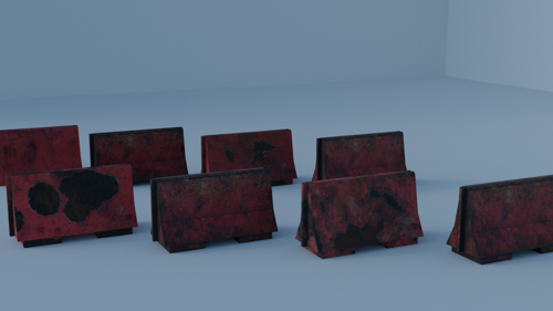 Metal barriers preview image