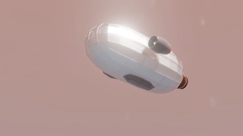 Metallic Air Ship (Nautilus) preview image