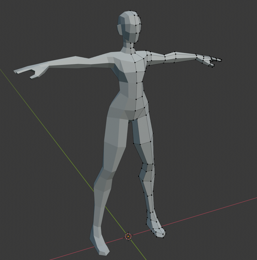 Female Basemesh for sculpting - UPDATED! preview image 2