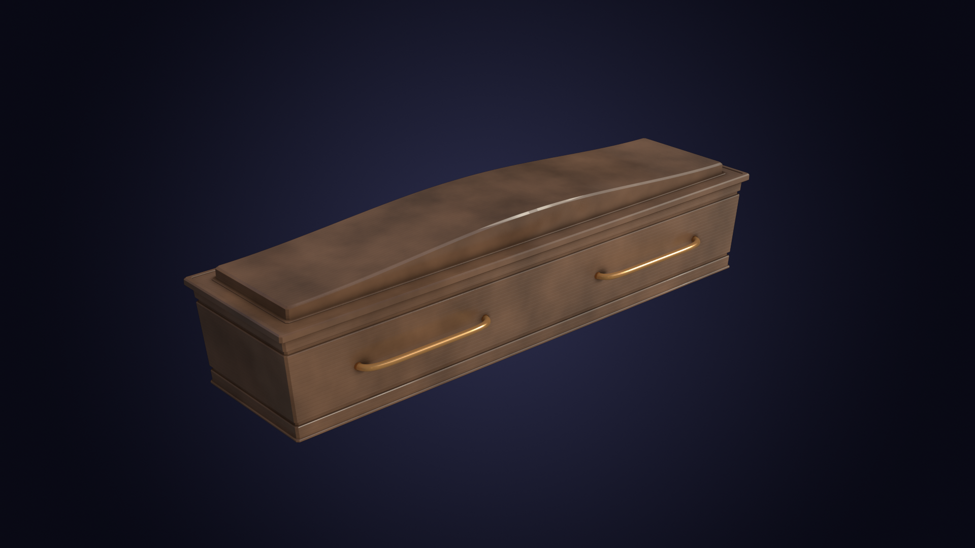 Wooden Coffin preview image 1