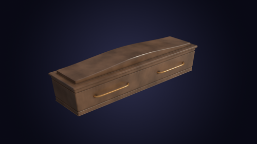 Wooden Coffin preview image