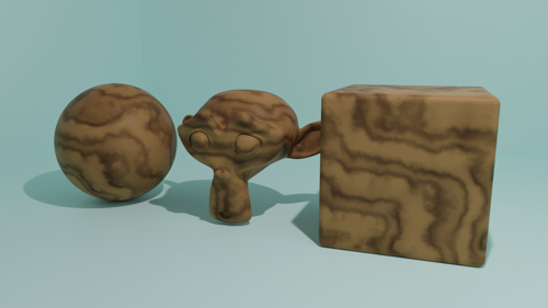Procedural Wood Material preview image