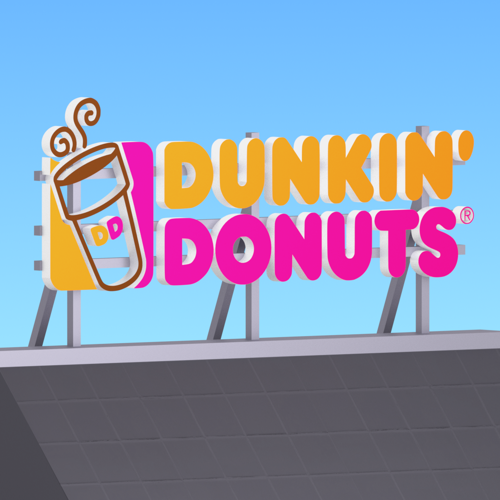 Dunkin' Donuts sign preview image