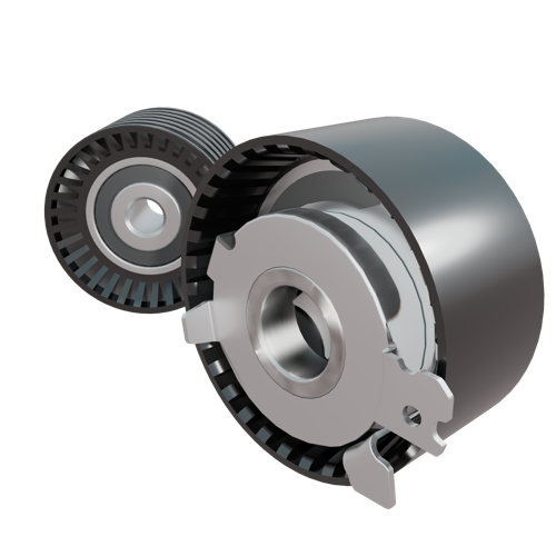 car parts - tensioner & idle wheels preview image