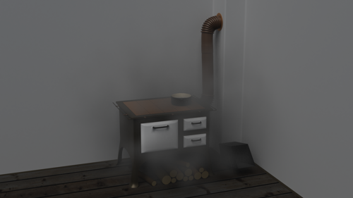 Old stove preview image