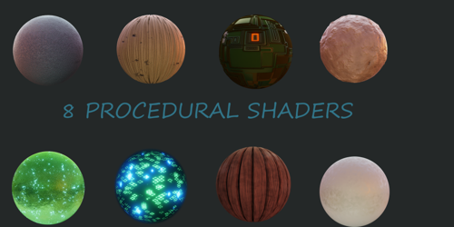 Procedural Material Pack preview image