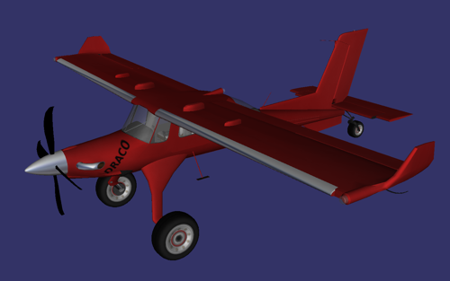PZL 104 wilga 2000 Draco preview image