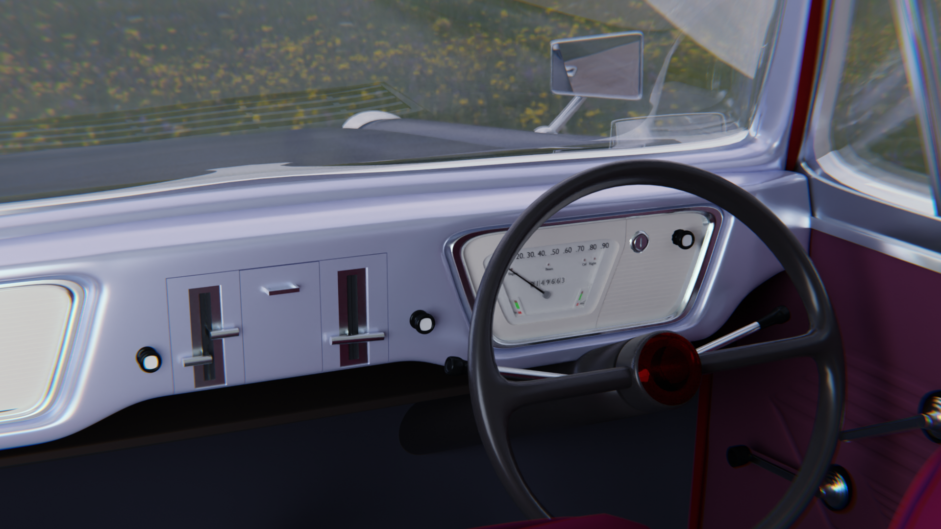 60's Car preview image 2