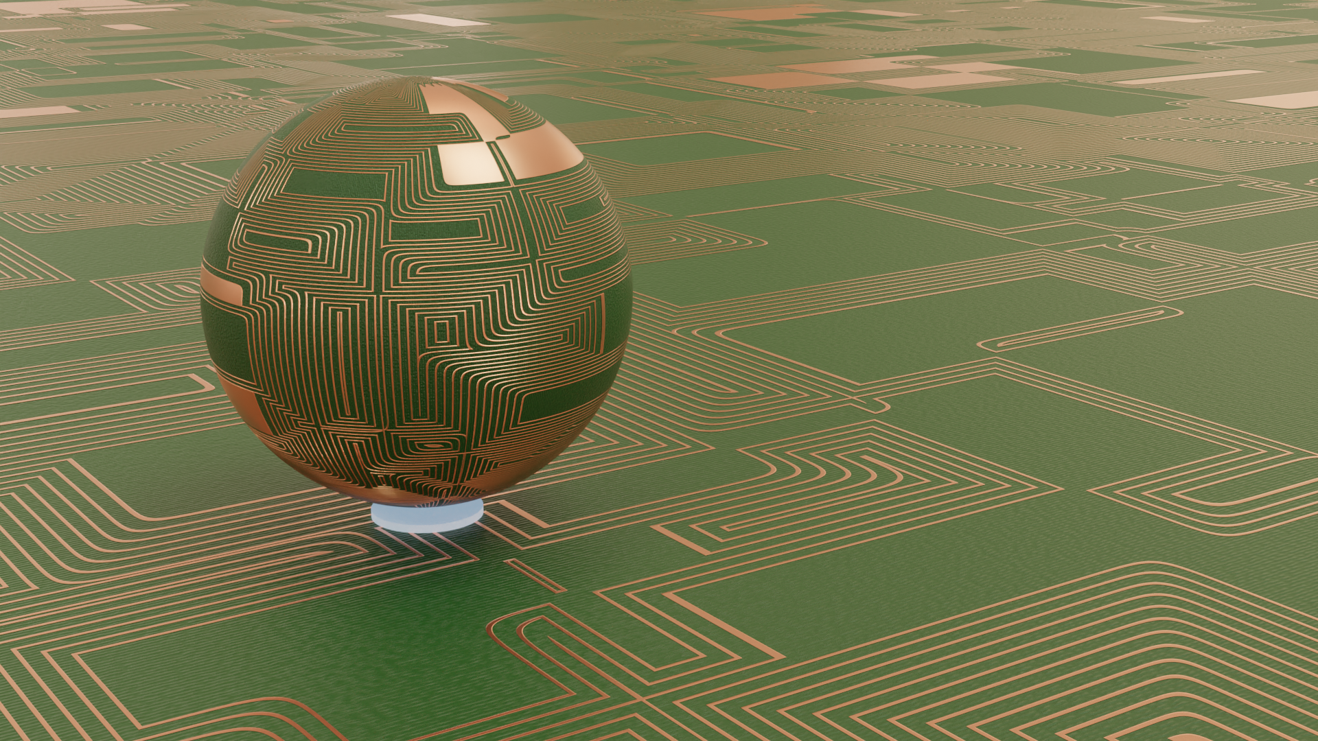 Circuit board shader and Node groups preview image 1