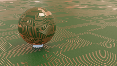 Circuit board shader and Node groups preview image