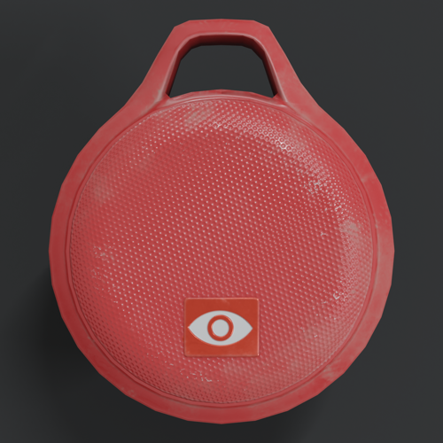 Red Handheld Speaker preview image