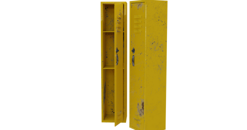Yellow lockers preview image