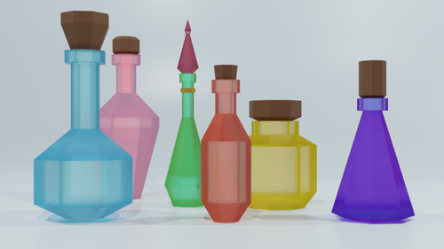 Low Poly Potions preview image