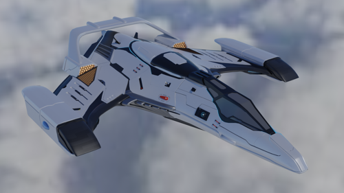 Imperial Eagle Spaceship (Imperfect)  preview image
