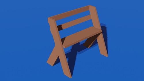 wood bench preview image