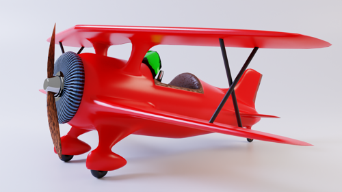 Toy Biplane preview image