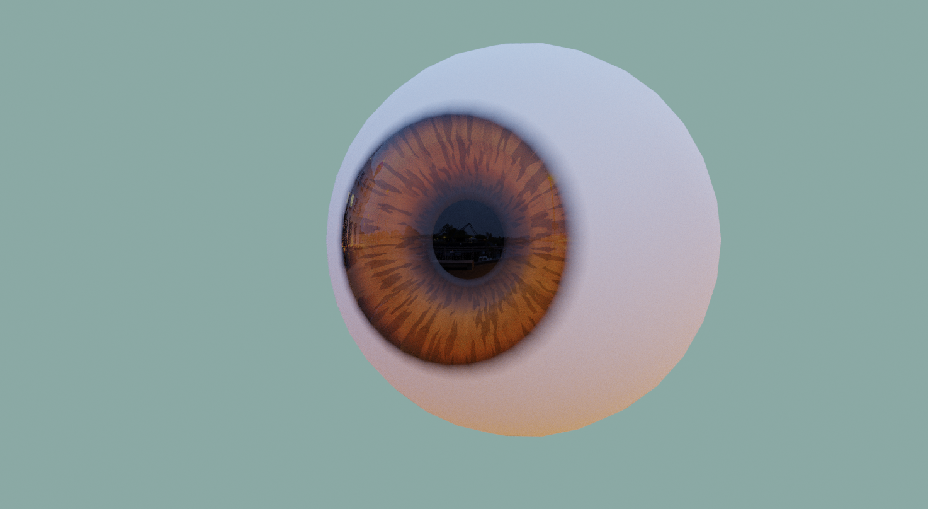 Cartoon // Real Eyes - Model and Materials preview image 3