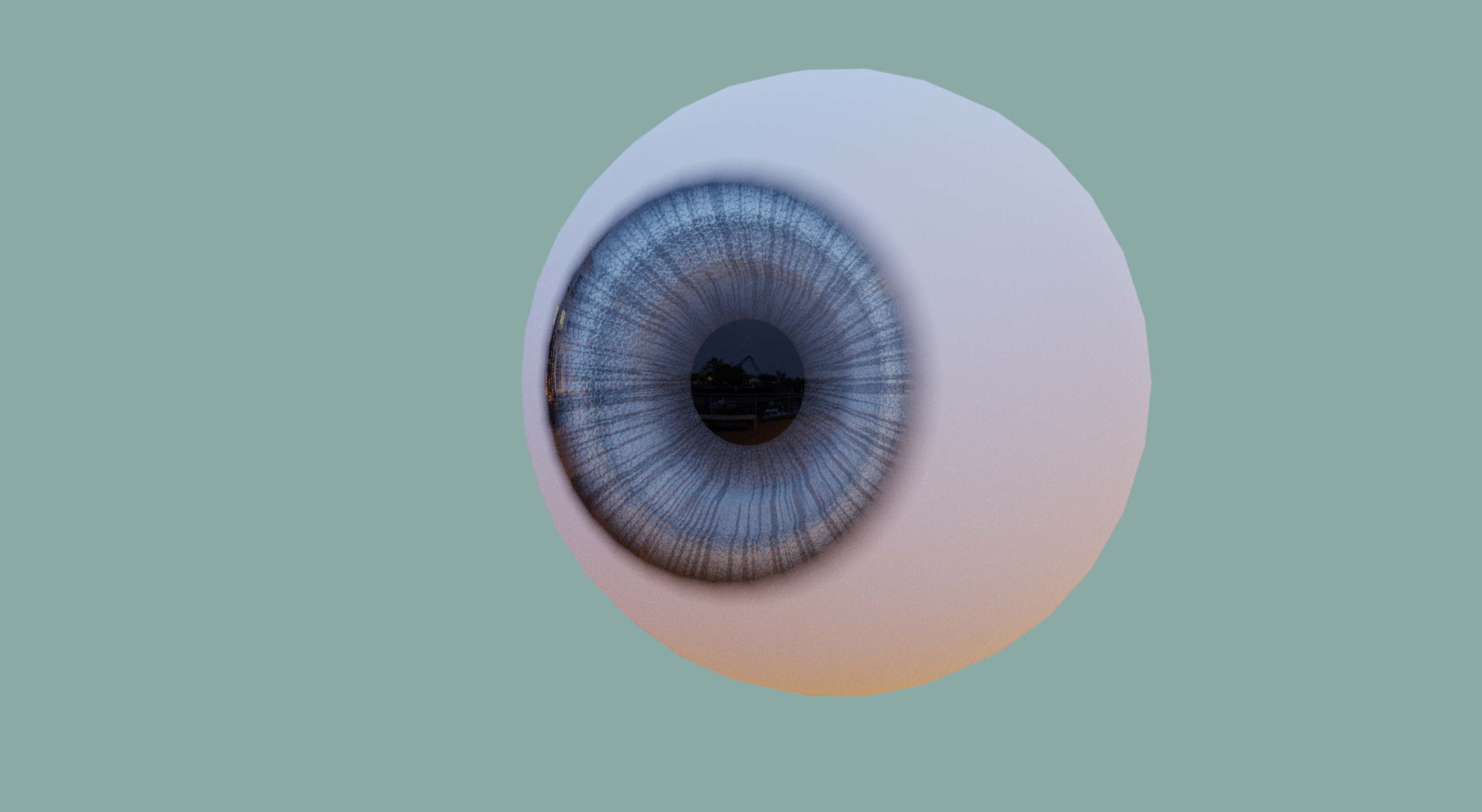 Cartoon // Real Eyes - Model and Materials preview image 4