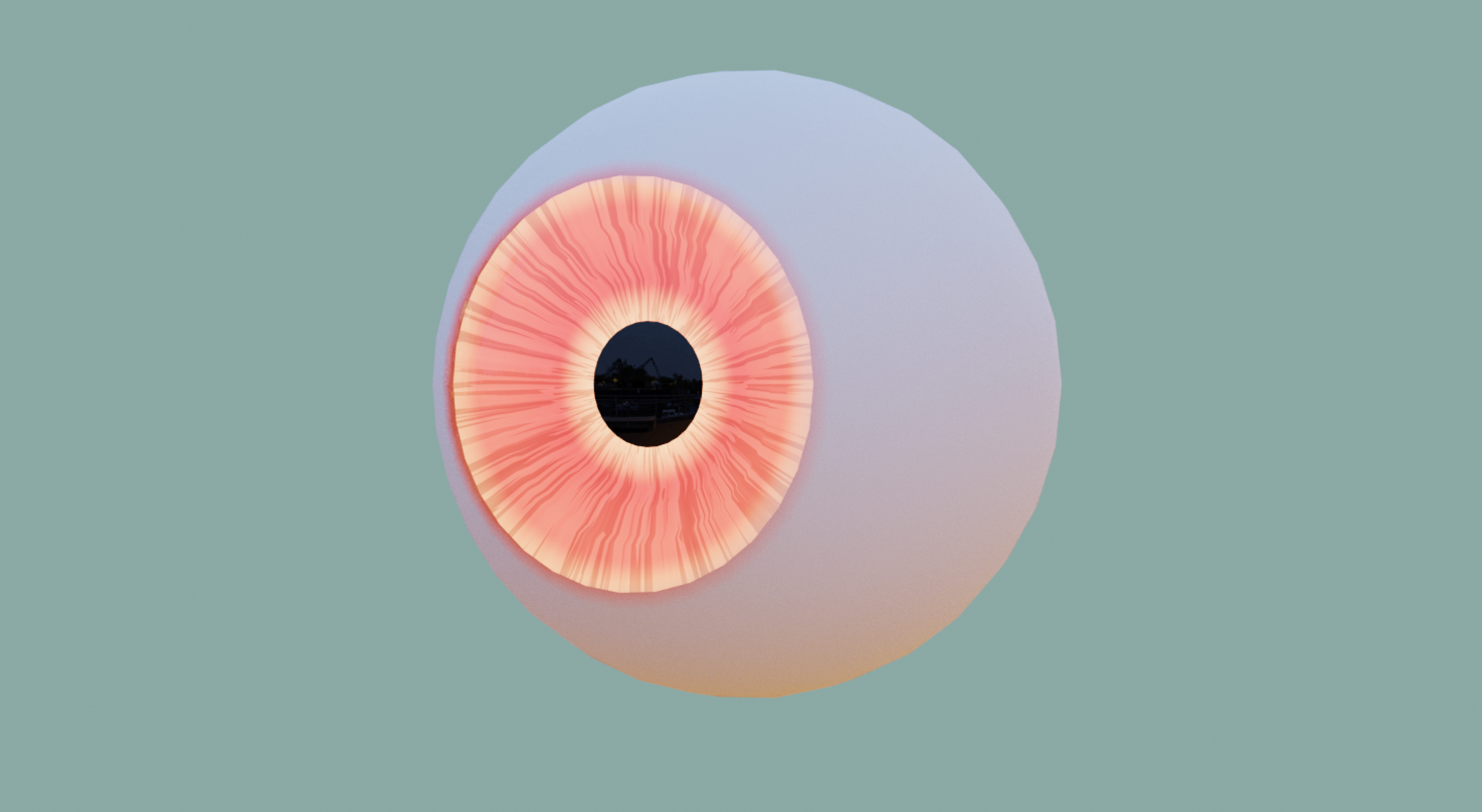 Cartoon // Real Eyes - Model and Materials preview image 5