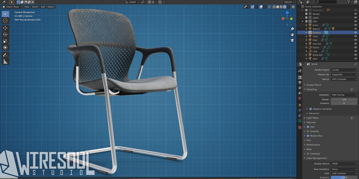LB Chair preview image 1