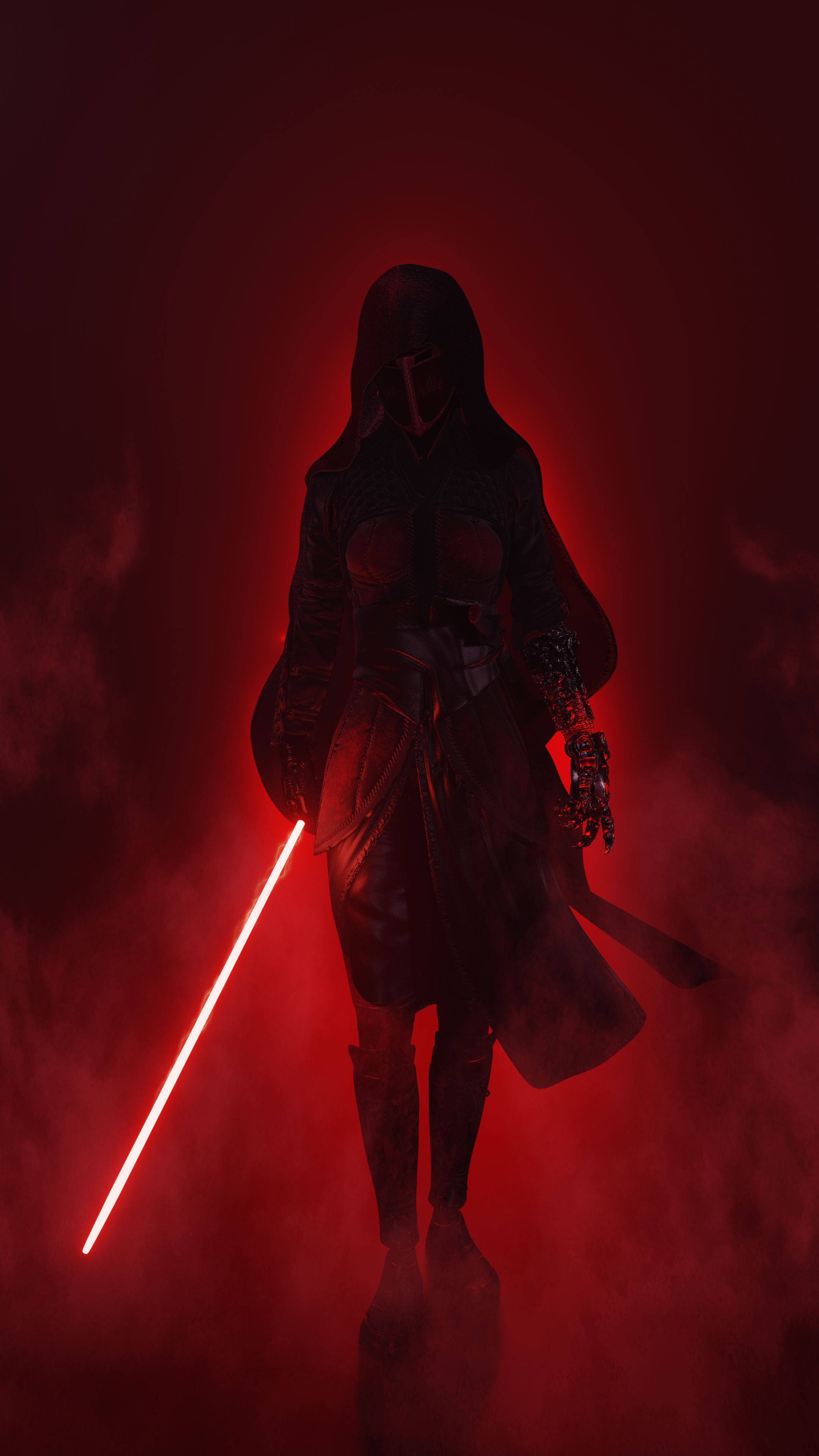 Sith Inquisitor Eevee blend preview image 1