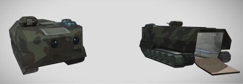 Amphibious Tank preview image