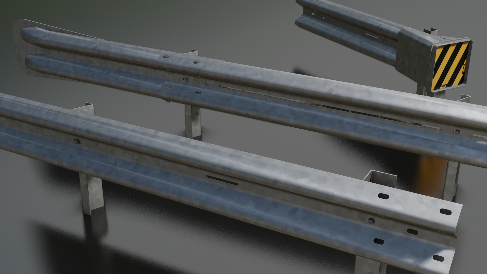Armco barrier sections preview image 1