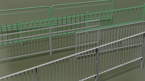 Pedestrian Railings preview image