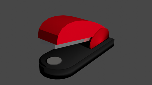 low poly stapler preview image