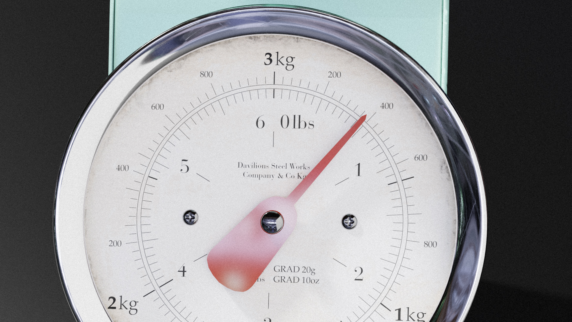 Old / Vintage Kitchen Scale (Scenefiller) by Davilion preview image 6