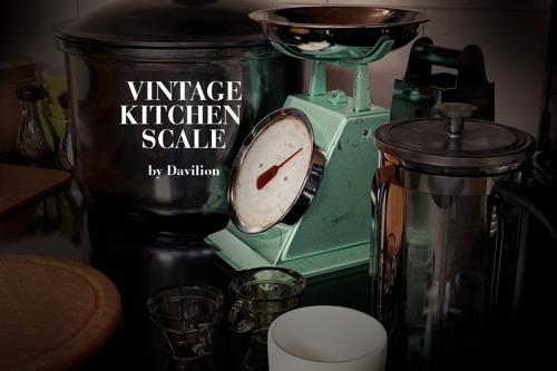 Old / Vintage Kitchen Scale (Scenefiller) by Davilion preview image
