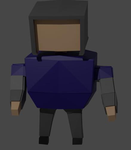 Low-Poly Rig preview image