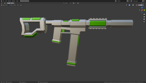 sci fi smg preview image