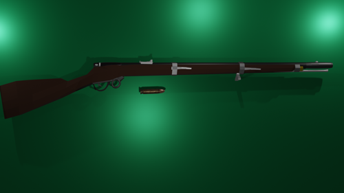 Model 1862 Rimfire Greene Rifle preview image