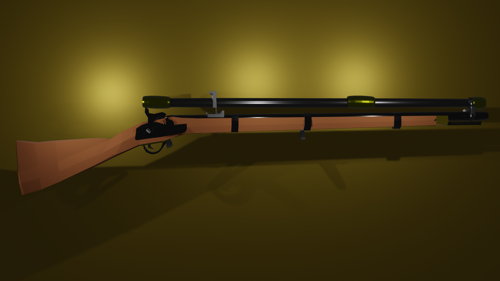 M1855 Witworth Sniper Rifle preview image