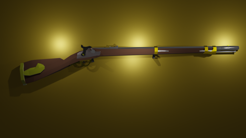 M1841 Mississippi Percussion Musket preview image