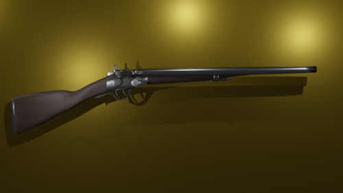 M1864 Greener Shotgun preview image