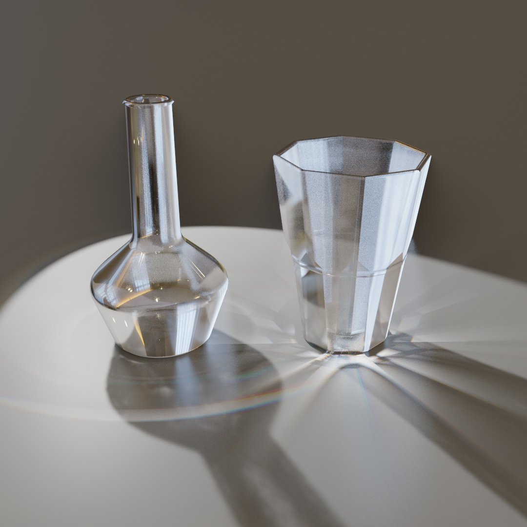 Glass for eevee - Glass 2.3 + caustics effect preview image 2