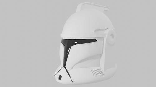 Сlone Helmet \\ Star Wars: Clone Wars preview image