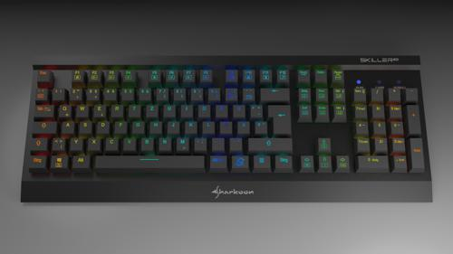 Sharkoon Keyboard (Low Poly) preview image