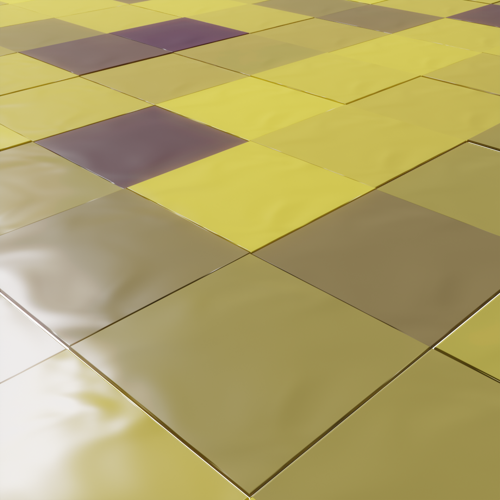 Random tiles with particle system preview image