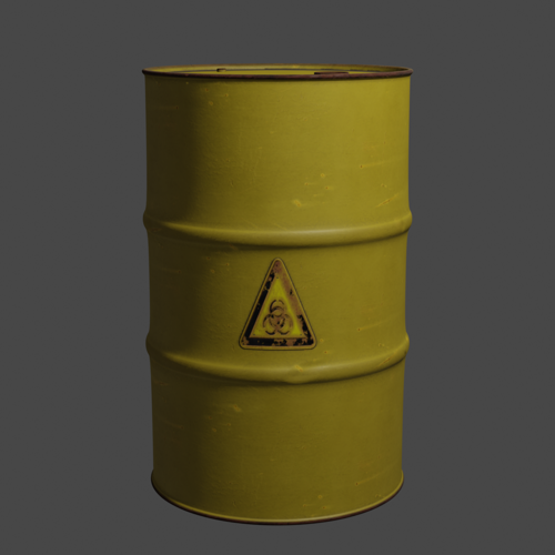 HD Oil Barrel preview image