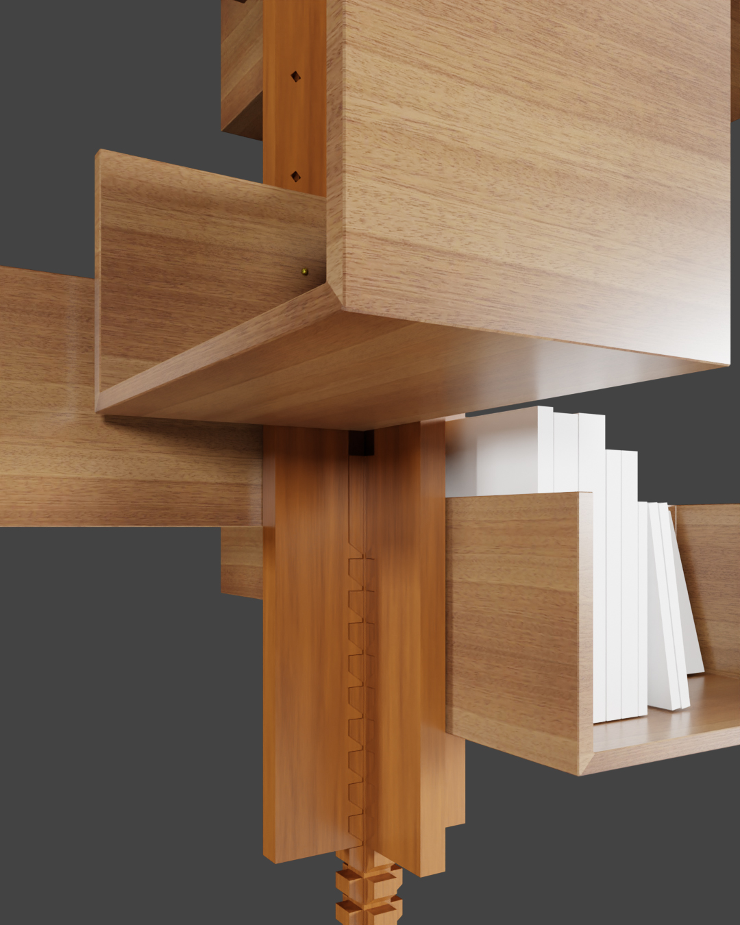 Bookcase Italian Design preview image 2