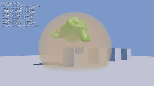 Fog Sphere GLSL 2D Filter for BGE preview image