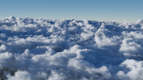 Simple Cloud Shader preview image