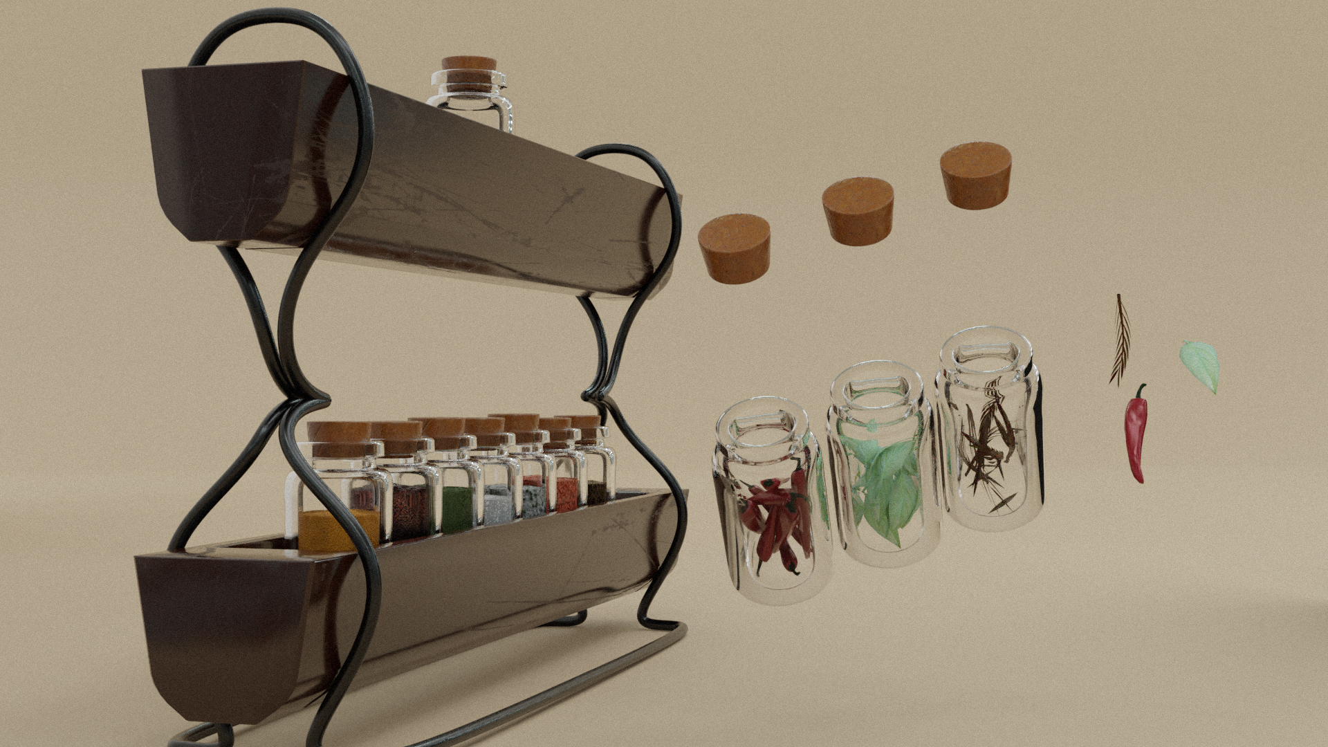 Vol2. Kitchen Essentials Asset Pack by Davilion preview image 9