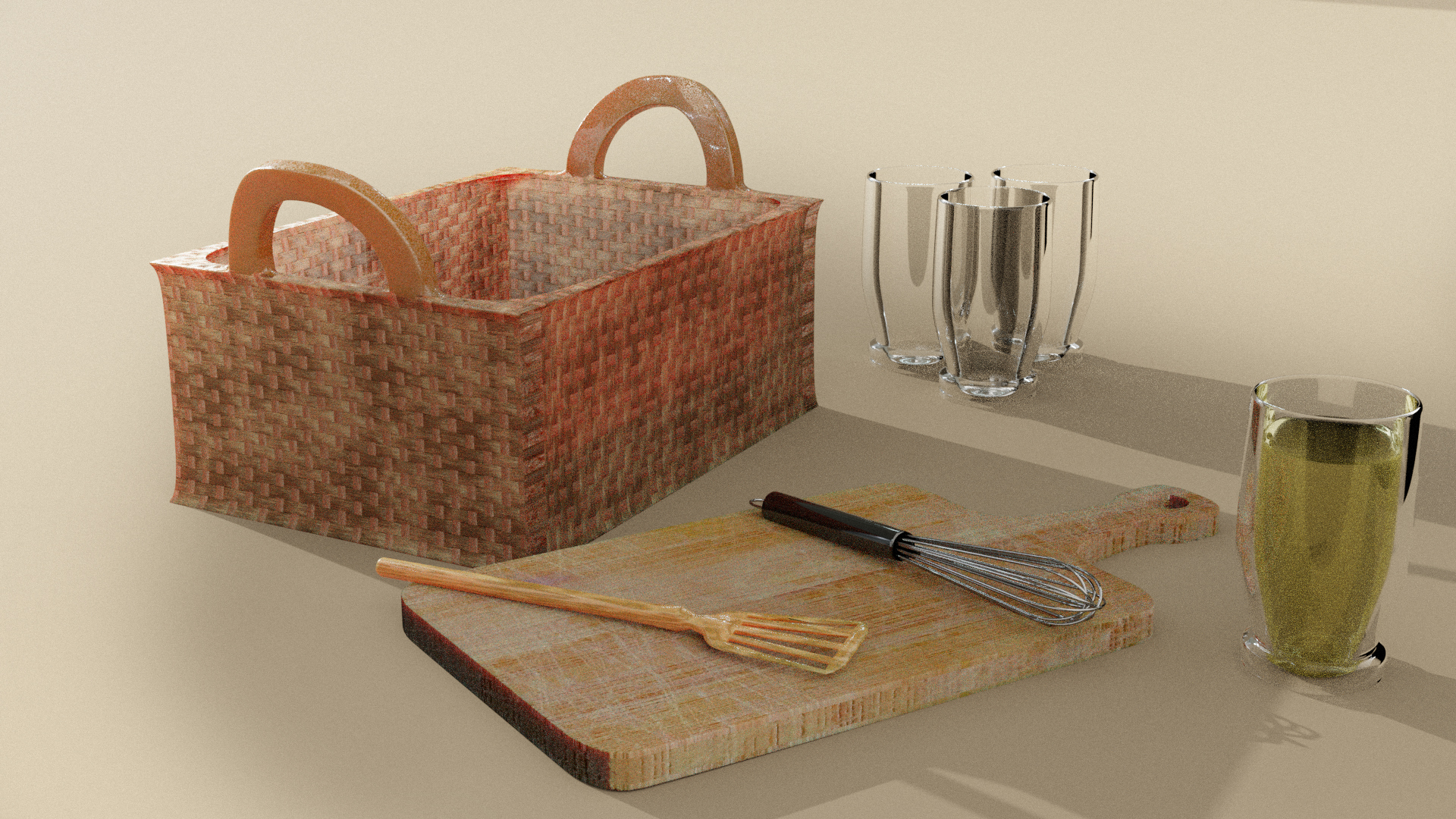Vol2. Kitchen Essentials Asset Pack by Davilion preview image 12