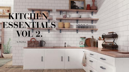 Vol2. Kitchen Essentials Asset Pack by Davilion preview image