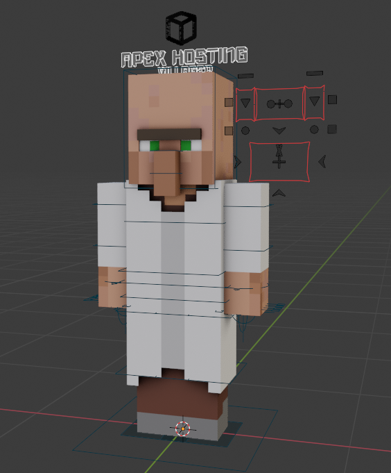Apex Hosting- Minecraft Villager Rig preview image 2